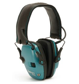 Howard Leight Shooting Sports Earmuffs R-02521, Electronic, Impact Sport, Teal