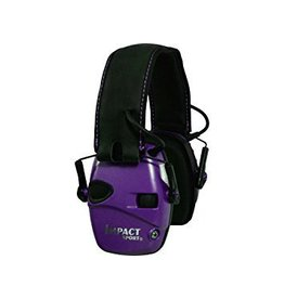 Howard Leight Shooting Sports Earmuffs , Electronic, Impact Sport, Purple