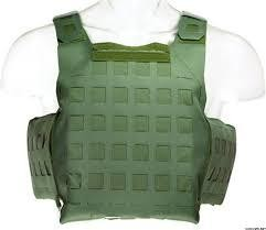 Blue Force, OD Green, PLATEminus Armor Carrier, Medium