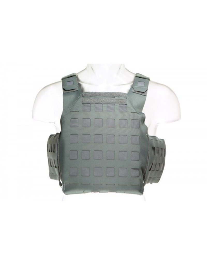 Blue Force, Wolf Grey, PLATEminus V2 Armor Carrier, Medium