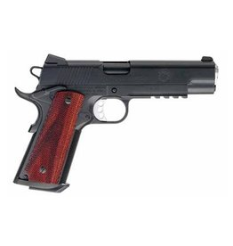 "Springfield Springfield, Tactical Response Pistol, FBI HRT, 1911, Full Size, 45ACP, 5"" Barrel, Steel Frame, Teflon Finish, Wood Grips, Tritium Night Sights, Ambidextrous, Rail, 7Rd"