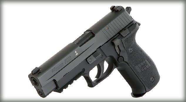 Sig Sauer Sig Sauer P226 MK-25-CA, 9mm, 4.4in, Polymer Grip, Nitron Slide, Night Sights