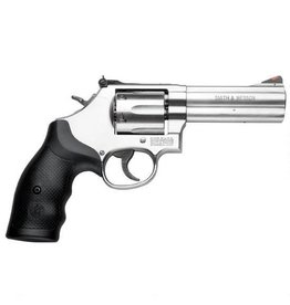 "Smith & Wesson Smith & Wesson 686 Revolver, 164222, 357 Remington Mag, 4"" , Synthetic Grip, Satin Stainless Finish, 6 Rd,"