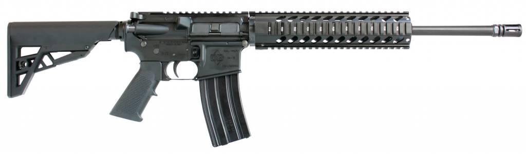 "Diamondback DB-15 Carbine, DB15CCB, 16"" Bbl, 5.56mm, Black Finish, 6-Pos Stock, CA Compliant"