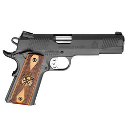 "Springfield Springfield Loaded 1911 Pistol PX9109LP, 45 ACP, 5"", Cocobolo Hardwood Grips, Parkerized Finish, Fixed Low Profile Combat Rear Dovetail Front Tritium Night Sights, 7 Rd"