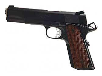 "Springfield Springfield, Tactical Response Pistol, FBI HRT,1911, Full Size, 45ACP, 5"" Barrel, Steel Frame, Akote Finish, Wood Grips, Tritium Night Sights, Ambidextrous, 7Rd"