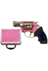 """Charter Arms Chic Lady 53839, .38 +P Special, 2"""", High Polised Stainless Barrel, Anodized Pink Frame, 5 Rd"""