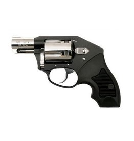 "Charter Arms, Off Duty, 38 Special, 2"" Barrel, Aluminum Frame, Black/High Polish Finish, Rubber Grips, Fixed Sights, 5Rd, Fired Case"