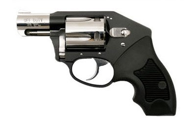 """Charter Arms, Off Duty, 38 Special, 2"""" Barrel, Aluminum Frame, Black/High Polish Finish, Rubber Grips, Fixed Sights, 5Rd, Fired Case"""