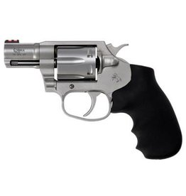 "Colt Cobra COBRASM2FO, 38 Spl+P Double 2"" 6 Black Hogue Rubber Grip Stainless Steel"