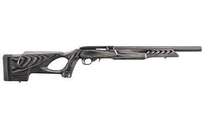 "Ruger, 10/22 Target, Semi-automatic Rifle, 22 LR, 18.5"" Threaded Barrel, Satin Black Finish, Black Laminate Thumbhole Stock, 10Rd"