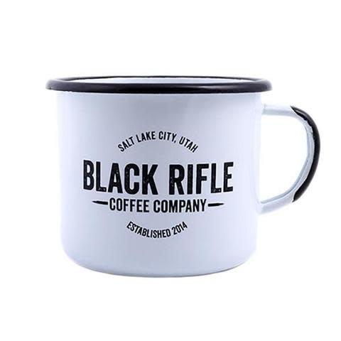 Black Rifle Coffee, Vintage Logo Enamel Mug