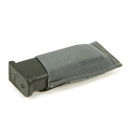 Blue Force Single Pistol Magazine Pouch, Helium Whisper Molle - Wolf Grey