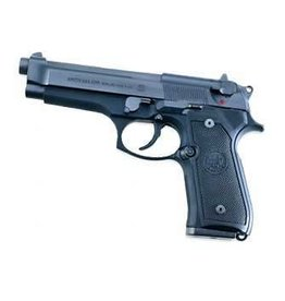 """Beretta M9 Semi-Auto Pistol J92M9AO, 9 MM, 4.9"""", Plastic Grip, Black Finish, 10 Rd"""