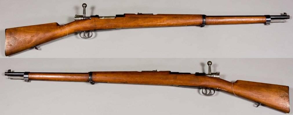 1906 Spanish Mauser Model 1893, 7x57mm