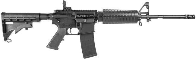 Colt LE M4 Carbine LE6920, 5.56 NATO, 16 in, Featureless, Black Finish