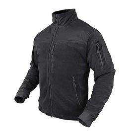Condor Alpha Micro Fleece - Black - L