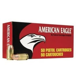 Federal American Eagle Pistol Ammunition AE32AP, 32 ACP, Full Metal Jacket (FMJ), 71 GR, 910 fps, 50 Rd/bx