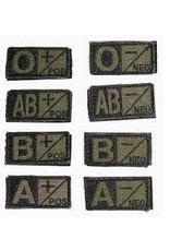 Condor Blood Type Patch - OD - AB Neg