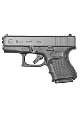 Glock Glock 26 Gen4 Subcompact Pistol (Used), 9 MM, 3.46 in, Fixed Sights, 10 Rd
