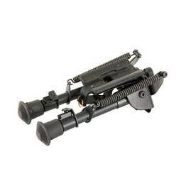 """Harris Bipod HBSBRM 6"""" to 9"""" with notches (Swivels)"""