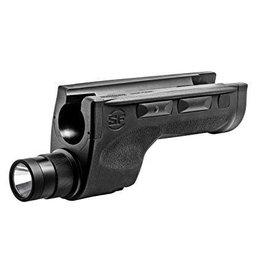 "Mossberg 500 W/Surefire Persuader Pump Action Shotgun 50577, 12 Ga, 20"", 8 Shot, 3"" Chamber, Black Stock, Black Finish"