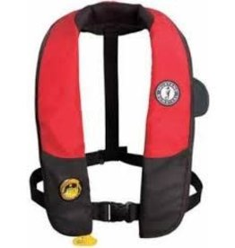 Mustang Survival MD3183 HIT Inflatable PFD - RED/BLK