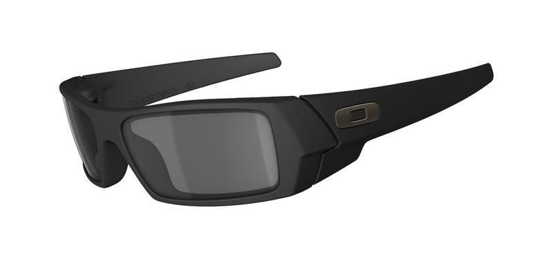Oakley GasCan - Matte Black W/ Grey Polarized Lens
