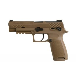 "Sig Sauer Sig Sauer 320F9M17MS P320 M17 9mm Luger Double 4.7"" 17+1 Coyote Polymer Grip Coyote Stainless Steel PVD Slide"