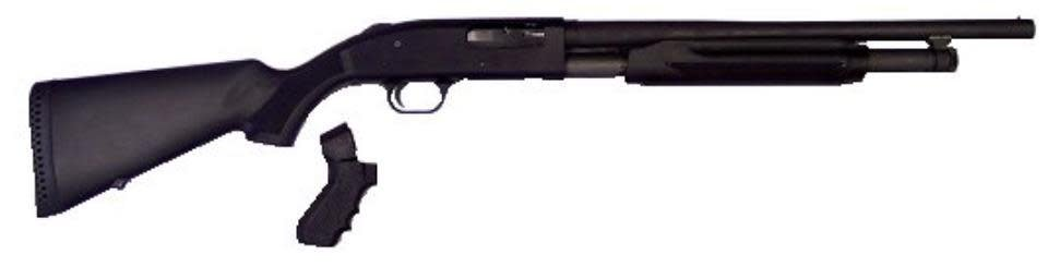 "Mossberg 50521 500 Special Purpose Pump 12 Gauge 1"" CB 3"" 5+1 Synthetic Stock w/Pistol Grip Kit Black Parkerized"