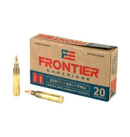 Frontier Cartridge, Lake City, 223 Rem, 55 Grain, Full Metal Jacket, 20 Round Box