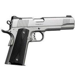 """(Used) Kimber Stainless II Pistol, .45 ACP, 5"""" Barrel, Satin Stainless Frame / Slide, 7rd"""