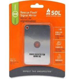 SOL Rescue Flash Signal Mirror