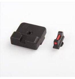 Zev Tech. Glock Rear Sight, .215 FO Front Sight, Black Finish
