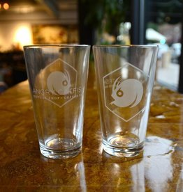 Angry Catfish - Pint Glass