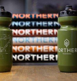 Northern Frameworks 22oz Bottle, Olive/Tan