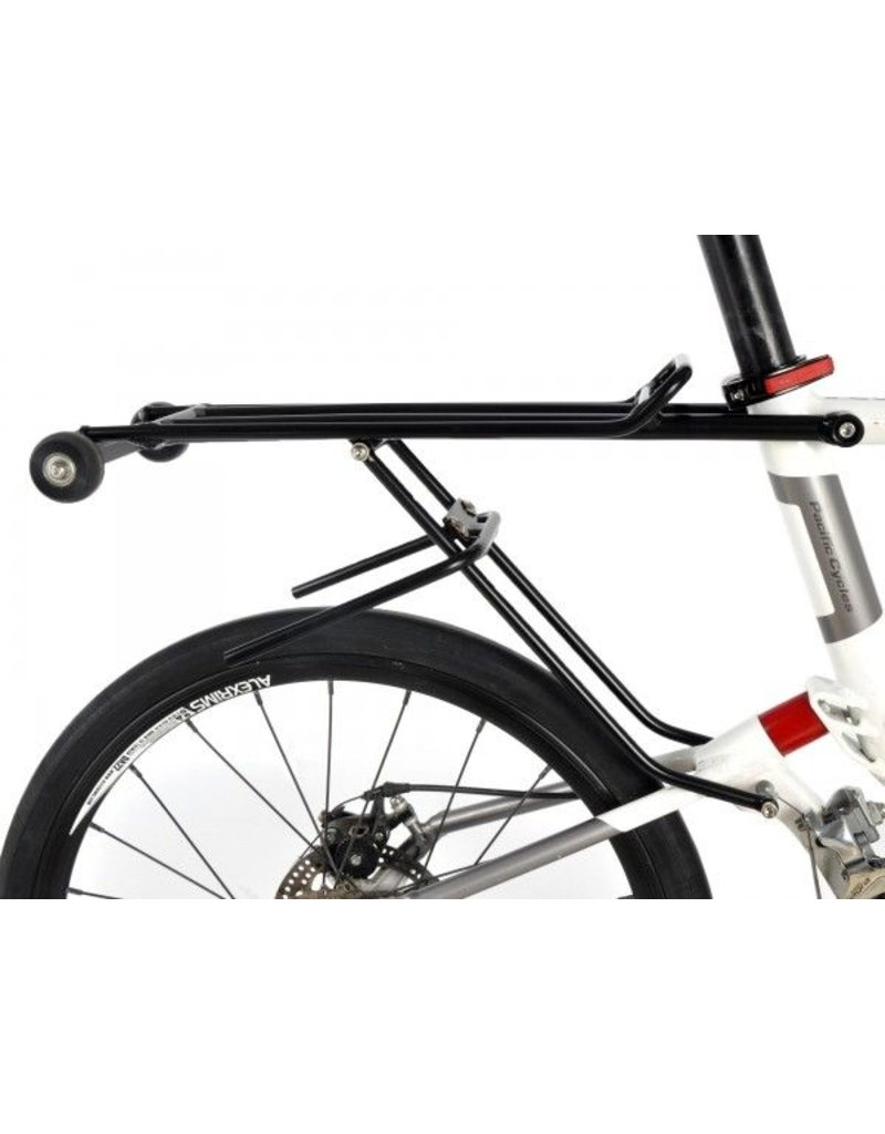 Pacific Cycles REACH R20/T20 Rear Carrier with Trolley Wheels