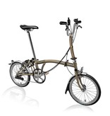 Brompton 2016 M6L Raw Lacquer Extremity / Raw Lacquer Frame