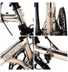 Brompton 2016 Brompton H6L Nickel Edition