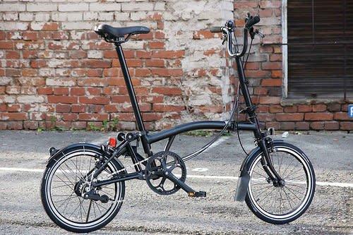 Brompton 2016 Brompton M6L Black Edition Black