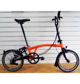 Brompton 2016 Brompton M6L Black Edition Orange