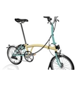Brompton M6L Ivory / Turkish Green
