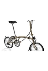 Brompton H6L Raw Lacquer / Raw Lacquer w/Wide Saddle