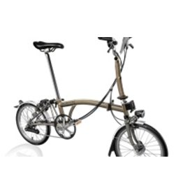 Brompton M6L Raw Lacquer Superlight w/SON Hub Dynamo