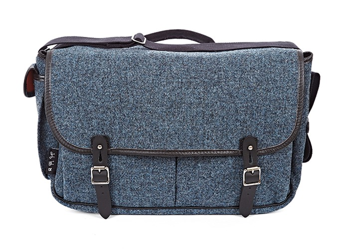 Game Bag + frame (Storm Grey tweed)