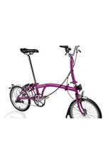 Brompton US2017 - M3L Berry Crush / Berry Crush w/Reduced Gearing Part Number: