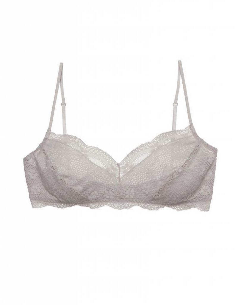 INDIA LACE RETRO BRALET OPAL