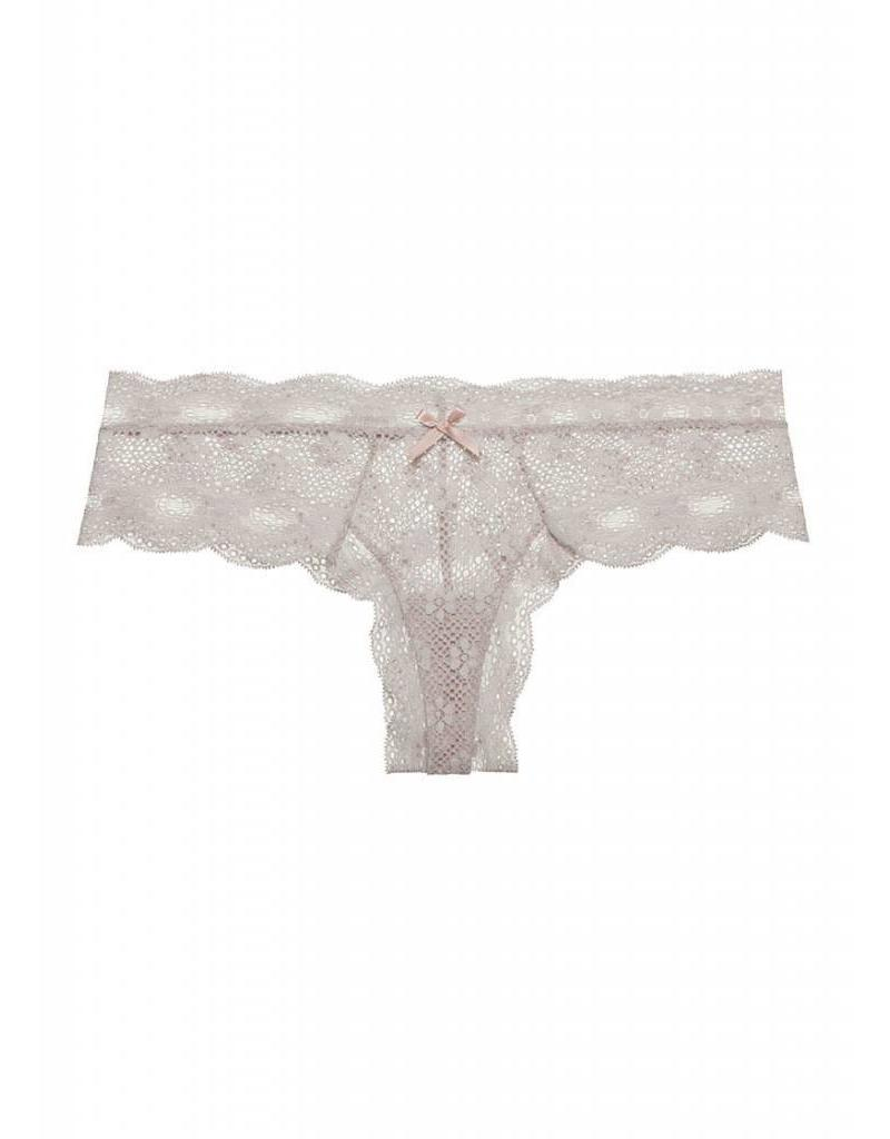 INDIA LACE LOW RISE BOYTHONG OPAL