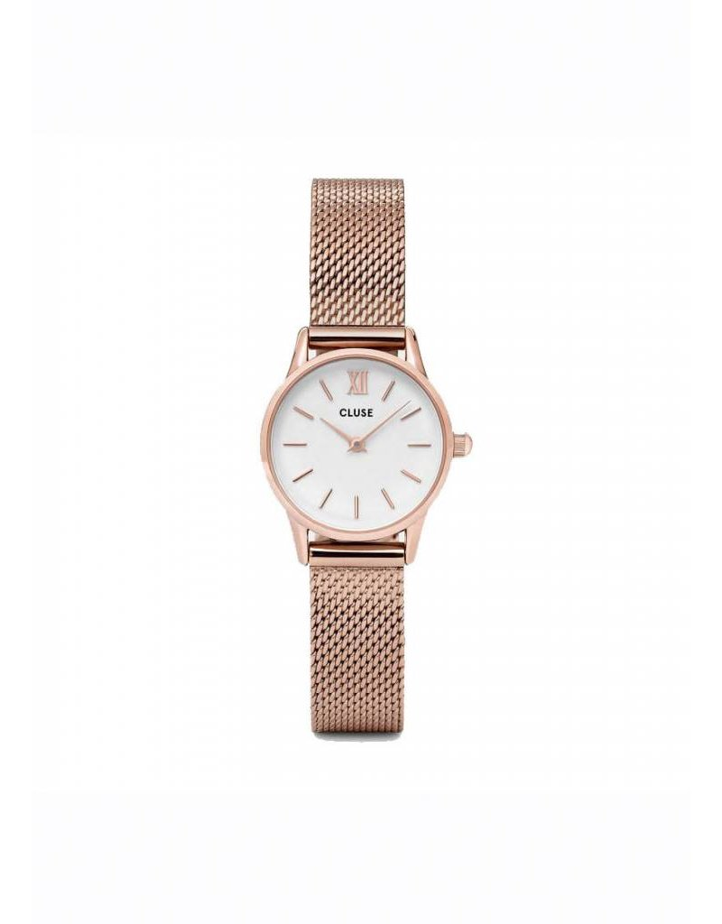 LA VEDETTE MESH ROSE GOLD/ WHITE