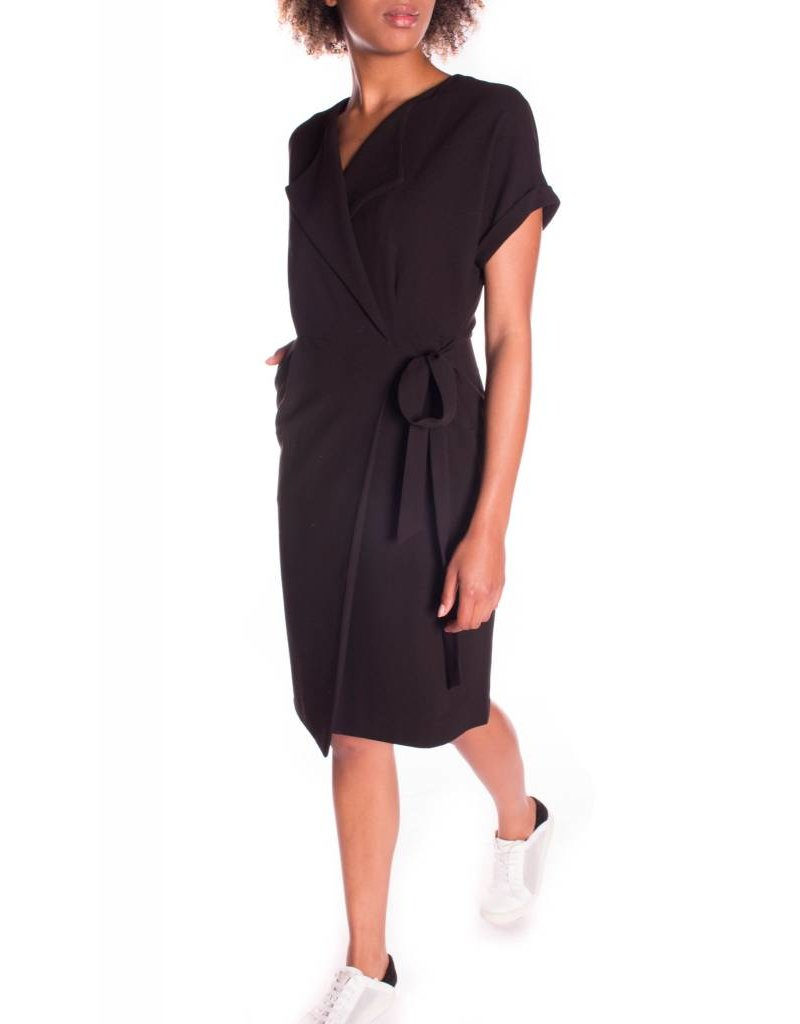LALI WRAP DRESS